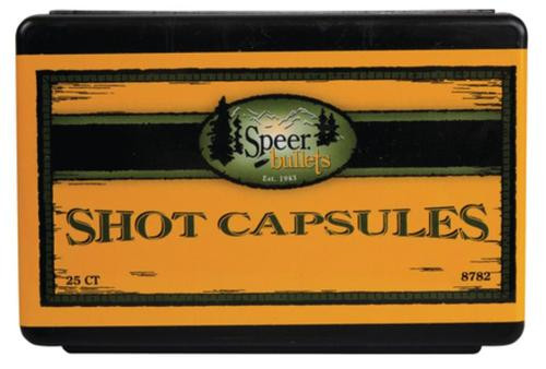 Speer Empty Shotshell Capsules .45 Colt With Base Plugs 25 Per Box