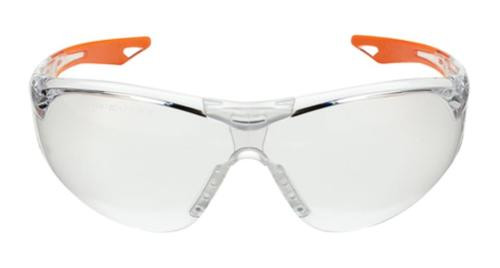 Champion Youth Ballistic Shooting Glasses Clear/Orange Frame Clear Lens