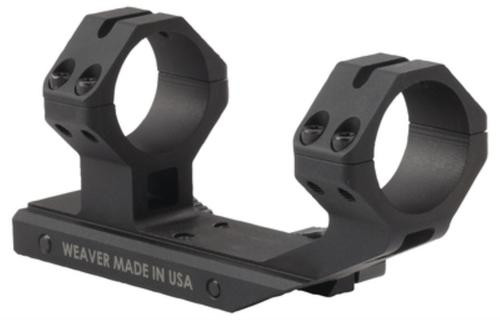 Weaver Special Purpose Rifle 30mm Optic Mount For AR Platform Rifles Black