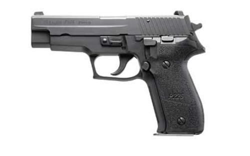 "Sig P226 E2 SA/DA 9mm, 4.4"", 10rd, Night Sights, Black"