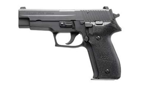"Sig P226 E2 SA/DA 9mm, 4.4"" Barrel, Night Sights, Black, 10rd"