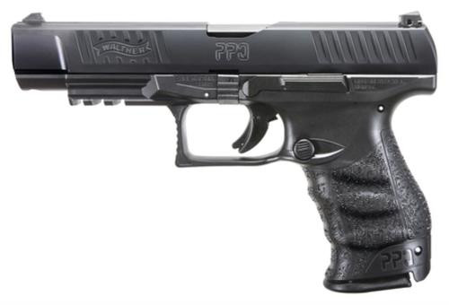 "Walther PPQ M2 9mm, 5"", 10rd, Black Tenifer Finish"