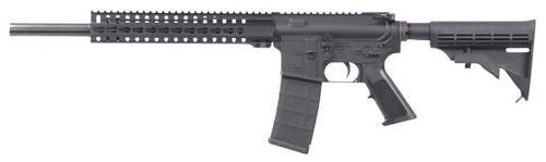 "CMMG MK4 B16 Rifle, .223/5.56, 16"", 30rd, 6-Position Stock, Black"