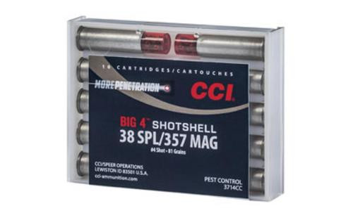 CCI 38 Special Shotshell #4 10rd/Box