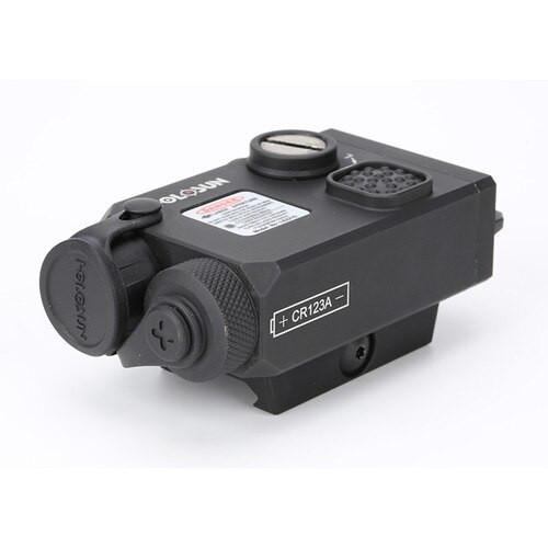 Holosun LS221R, Coaxial, Red/IR Laser, Black