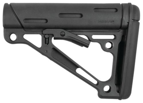 Hogue AR-15/M16 Collapsible Buttstock Black Rubber