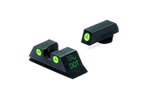 Meprolight Tru-Dot Glock 42 Night Sight Set Green Black