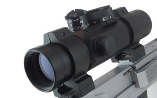 Ultra Dot Match Dot II Red Dot, 30mm ,Black, 2 Reticles