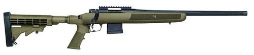"Mossberg MVP Flex Bolt 223 Remington/5.56 NATO 18.5"" Barrel, 6-Position Tan Stock Blued, 10rd"