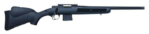 "Mossberg MVP Flex Bolt 223 Remington/5.56 NATO 18.5"" Barrel, 4-Position Black Stock Blued, 10rd"