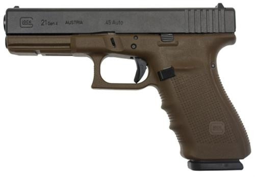 Glock 19, Gen4, 9mm, 15 Round Mags, FLAT DARK EARTH FRAME