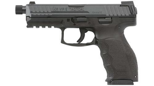 """HK VP9 Tactical 9mm 4.7"""" Threaded Barrel, 2- 15rd Mags"""