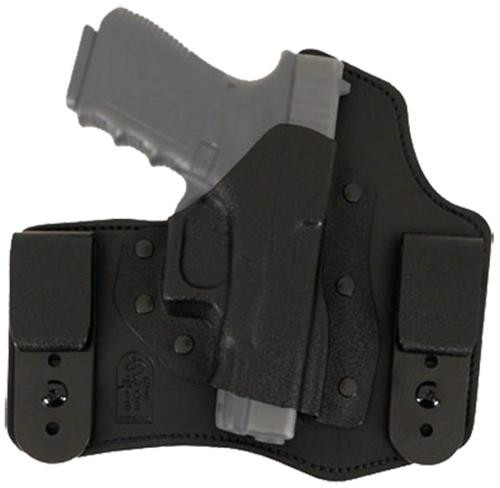 "Desantis Intruder RH S&W M&P Compact 9/40 3.5"" Leather Black"