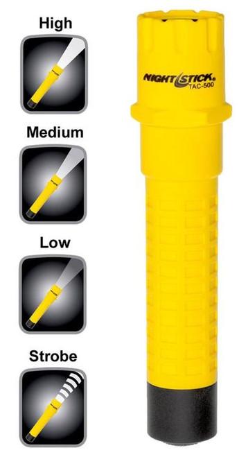 Nightstick Tactical Flashlight 200/125/65 Lumens CR123A Lith