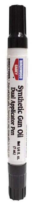 Birchwood Casey Gun Oil Duel Applicator Lubricant Pen 7ml (Also in 6 Packs)