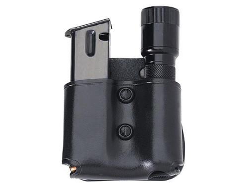 "Galco Cop Mag Flashlight Paddle Holster, Ambi, 1"" Flashlight Models, Black"