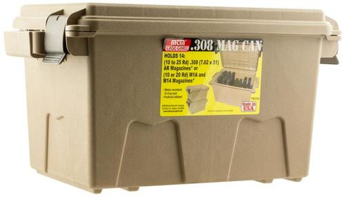 "MTM Tactical Magazine Can 17.2"" x 10.7"" x 9.2"" 14 Mags Dark Earth"