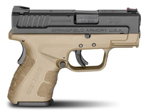 "Springfield XD Mod.2 Sub-Compact Double 40 S&W 3"" 9+1/12+1"