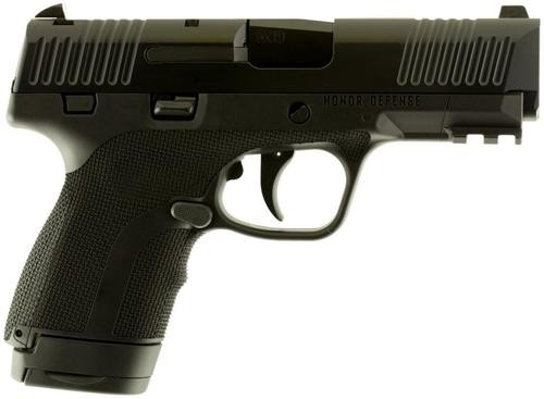 "Honor Defense Honor Guard Sub-Compact Long Slide Double 9mm +P 3.8"" 7rd"