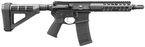 "Bushmaster AR-15 Pistol Square Drop Rail 300 BO/Whisper 9.5"" Barrel SB Brace 30Rd Mag"