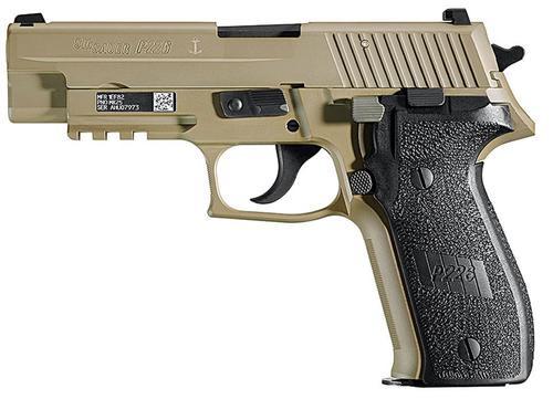 "Sig P226 MK25, SA/DA 9mm, 4.4"", 10rd, Flat Dark Earth"
