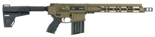 "Diamondback DB10 AR Pistol, .308 Win, 13.5"" Barrel, Burnt Bronze Finish"