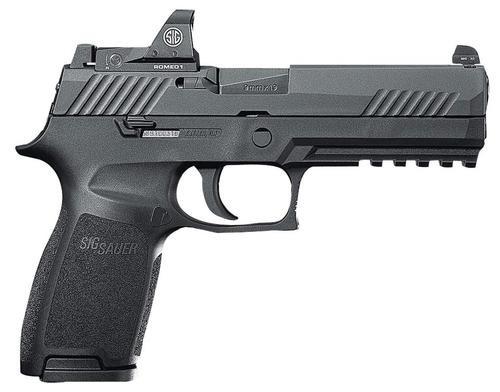 "Sig P320 RX, 9mm, 4.7"", 10rd, Black Nitride,, Sig Romeo 1 Red Dot"