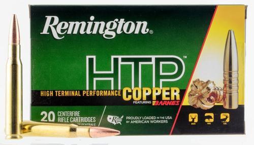 Remington HTP Copper 223 Rem 62gr, TSX, 20rd Box