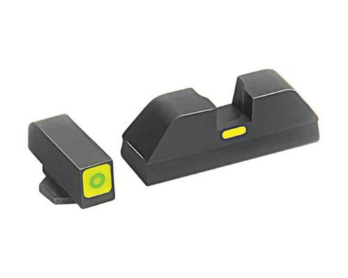AmeriGlo CAP Tritium Lumi-Lime Sight Set Glock 20/21/29 Green/Green