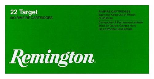 Remington Target 22 LR Round Nose 40gr, 100rd/Box