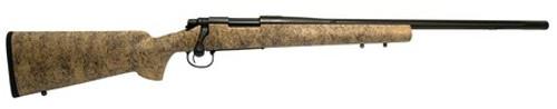 "Remington 700 Gen2 .300 Win Mag 24"" 5-R Fluted Threaded Barrel Blackened SS, HS Precision Stock"