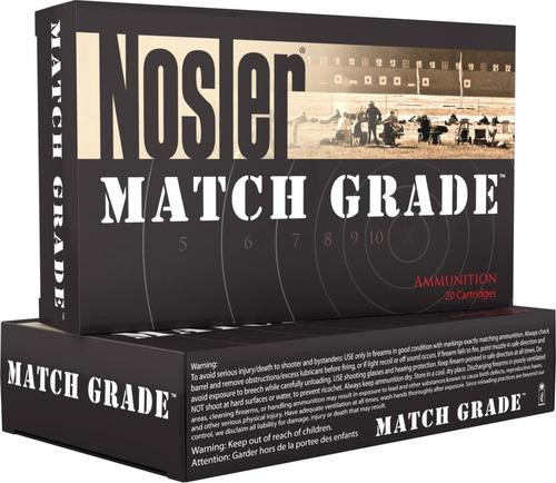 Nosler Match Grade 30 Nosler 190gr, Custom Competition 20rd Box