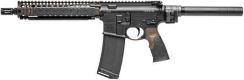 "Daniel Defense DDM4 MK18 Pistol, .223/5.56, 10.3"", MK18 Rail System, Law Tactical Gen3 Adaptor, 30rd"