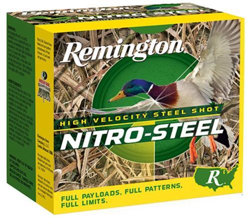 """Remington Nitro 12 Ga, 3.5"""", 1-1/2oz, 2 Shot, 25rd/Box"""