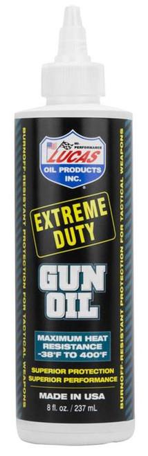 Lucas Oil Extreme Duty Gun Oil 8oz