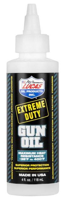 Lucas Oil Products, Inc. Extreme Duty, Liquid, 4oz, Gun Oil, Plastic