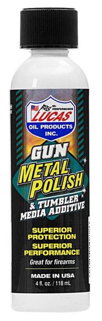 Lucas Oil Gun Metal Polish 4 oz