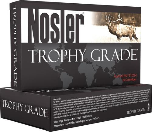 Nosler Trophy Grade 308 Win/7.62mm 168gr, AccuBond Long Range, 20rd Box