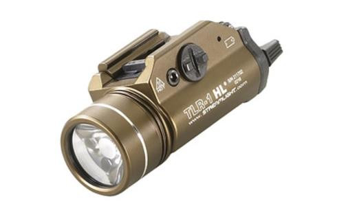 Streamlight TLR-1 HL C4 White LED Light, Rail, Flat Dark Earth Brown