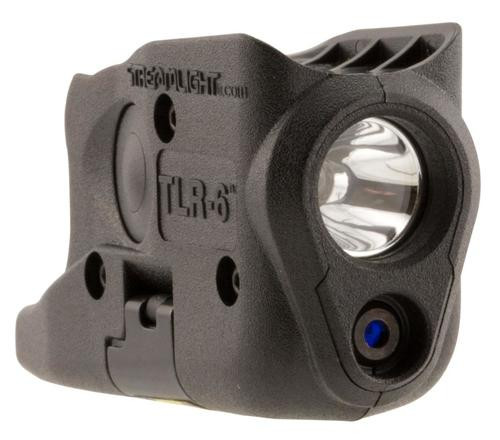 Streamlight TLR-6 Laser/Light Combo 100 Lumens CR-1/3N (2) Black, Glock 26/27/33