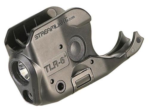 Streamlight TLR-6 Laser/Light Combo 100 Lumens CR-1/3N (2) Black, Kimber Micro