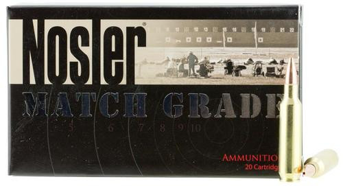 Nosler Match Grade 22 Nosler 77gr, Custom Competition 20rd Box