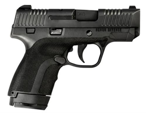 """Honor Defense Honor Guard Sub-Compact Double 9mm +P, 3.2"""", 7rdrd/8+1rd Mag, Ambi Safety"""