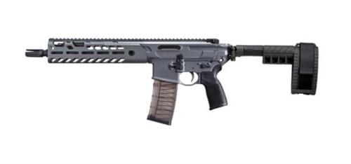 "Sig MCX Virtus Pistol 5.56/223 11.5"" Barrel M-LOK Col. Stabilizing Brace Gray Finish 30rd Mag"
