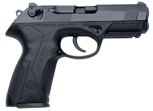 "Beretta Px4 *CA Compliant* Storm Single/Double 9mm 4"" Black, 10rd"