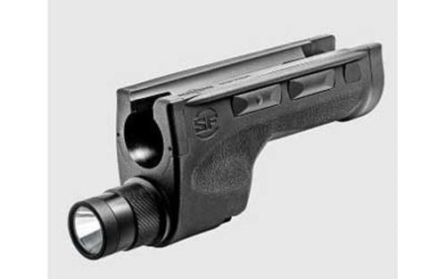 Surefire Dedicated 6v Shotgun Forend For Mossberg 500/590, Includes Ambidextrous Momentary/Constant On, Selector Switch for High/Low