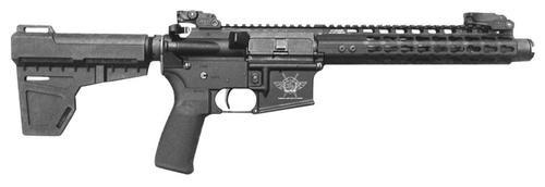 "Civilian Force Arms Warrior-15 AR Pistol, .223/5.56, 7.5"", 30rd, Black"