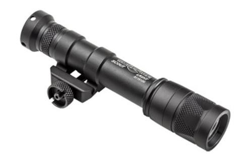 SureFire Scout Light 3V Vampire With White/Infrared Leds M75 Thumb Screw Mount 250 Lumens/100Mw Black Z68 Click On/Off Tailcap