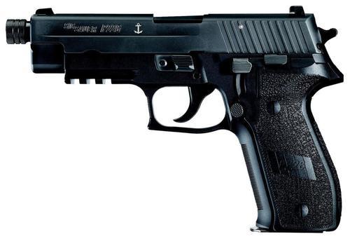 "Sig P226 MK25 9mm, SA/DA, 4.4"" Threaded Barrel, 10rd, Black"
