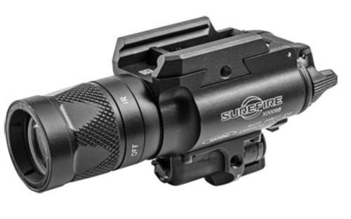 SureFire X400 Vampire 6V White/Infrared Leds Universal/Picatinny Rail Mount 350 Lumens/120Mw Consumer Infrared Laser Black Z-Xbc Push/Toggle Switch